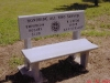 web bench gray